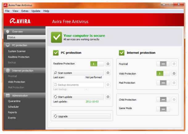 Free Download Avira Free Antivirus 2014