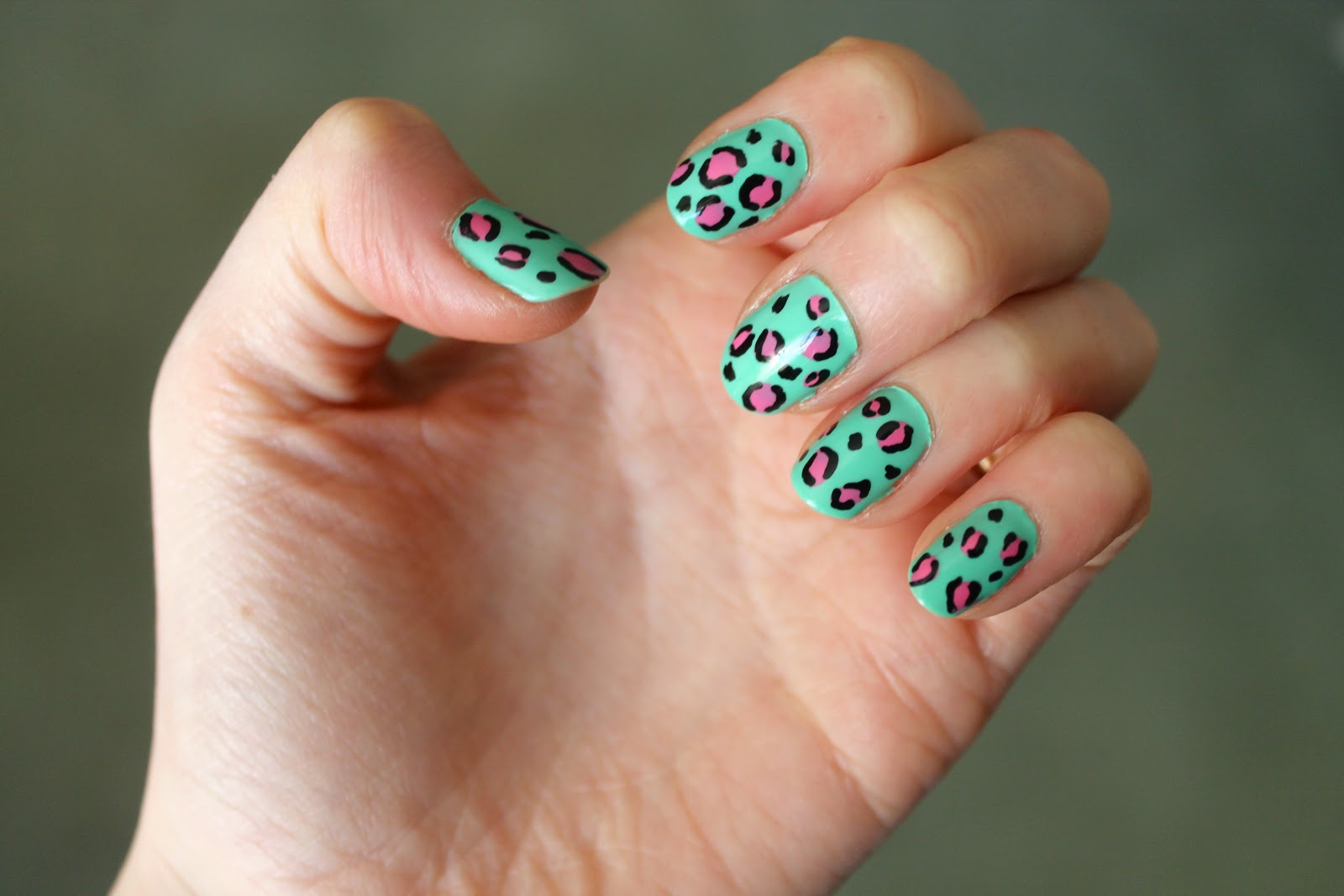 Animal print nails prinsesfo Image collections