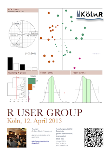 Next Kölner R User Meeting: 12 April 2013