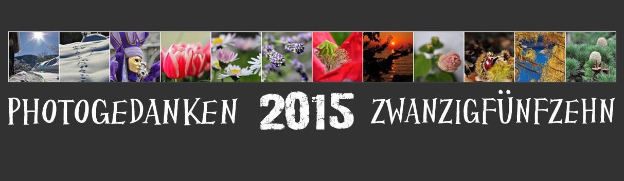 Photogedanken ZWANZIG FÜNFZEHN (in Zahlen 2015)