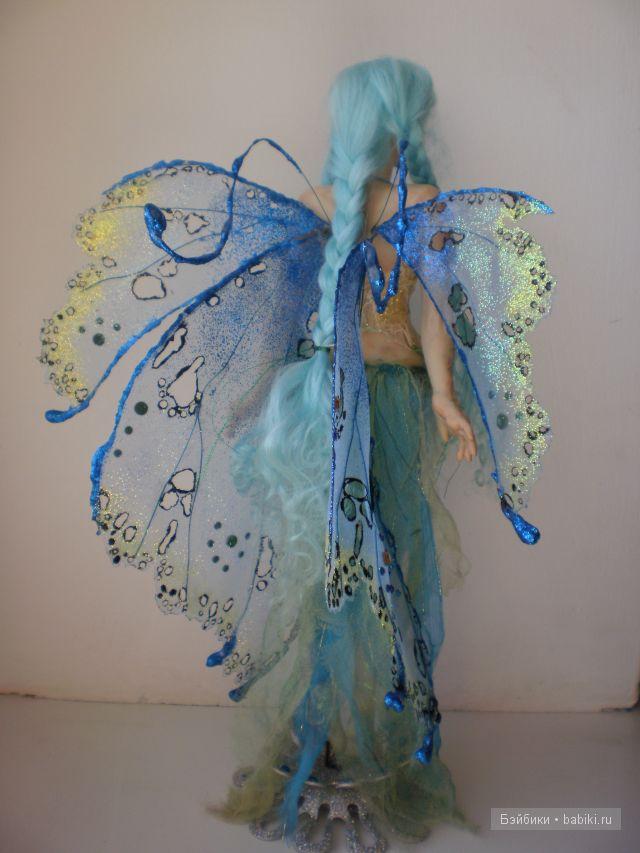 Как сделать куклам крылья