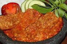 Resep masakan indonesia tempe penyet lamongan spesial lezat, gurih, sedap