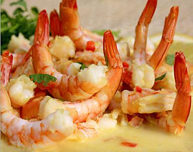 Only4She Kitchen: Thai Lemon Shrimp