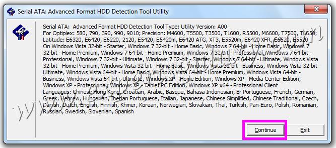 Advanced Format Detection Utility