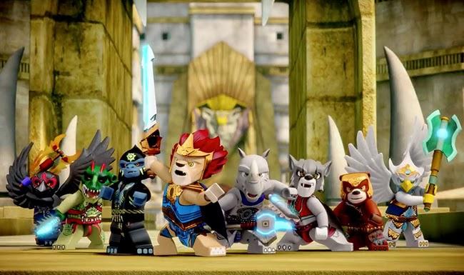 Đồ chơi Lego huyền thoại Chima