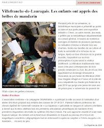 Villefranche de Lauragais: les enfants ont appris des bribes de Mandarin.