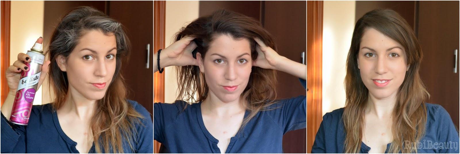 rubibeauty champu seco batiste uso volumen cabello
