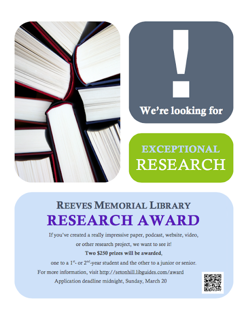 Research Award Flyer