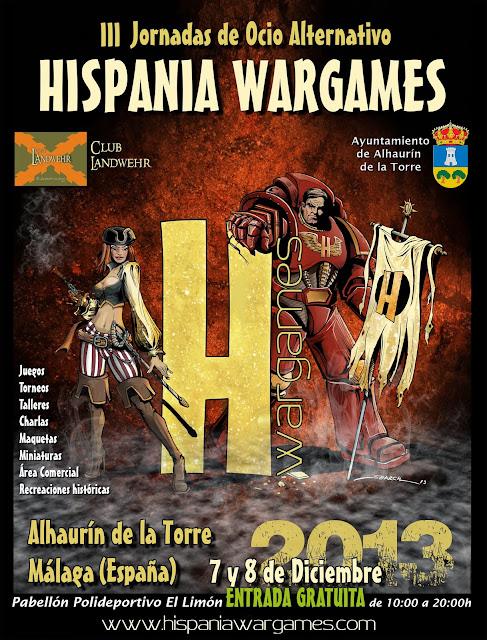 Cartel Oficial HISPANIA wargames 2013