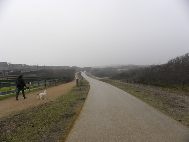 Kijkduin in the winter