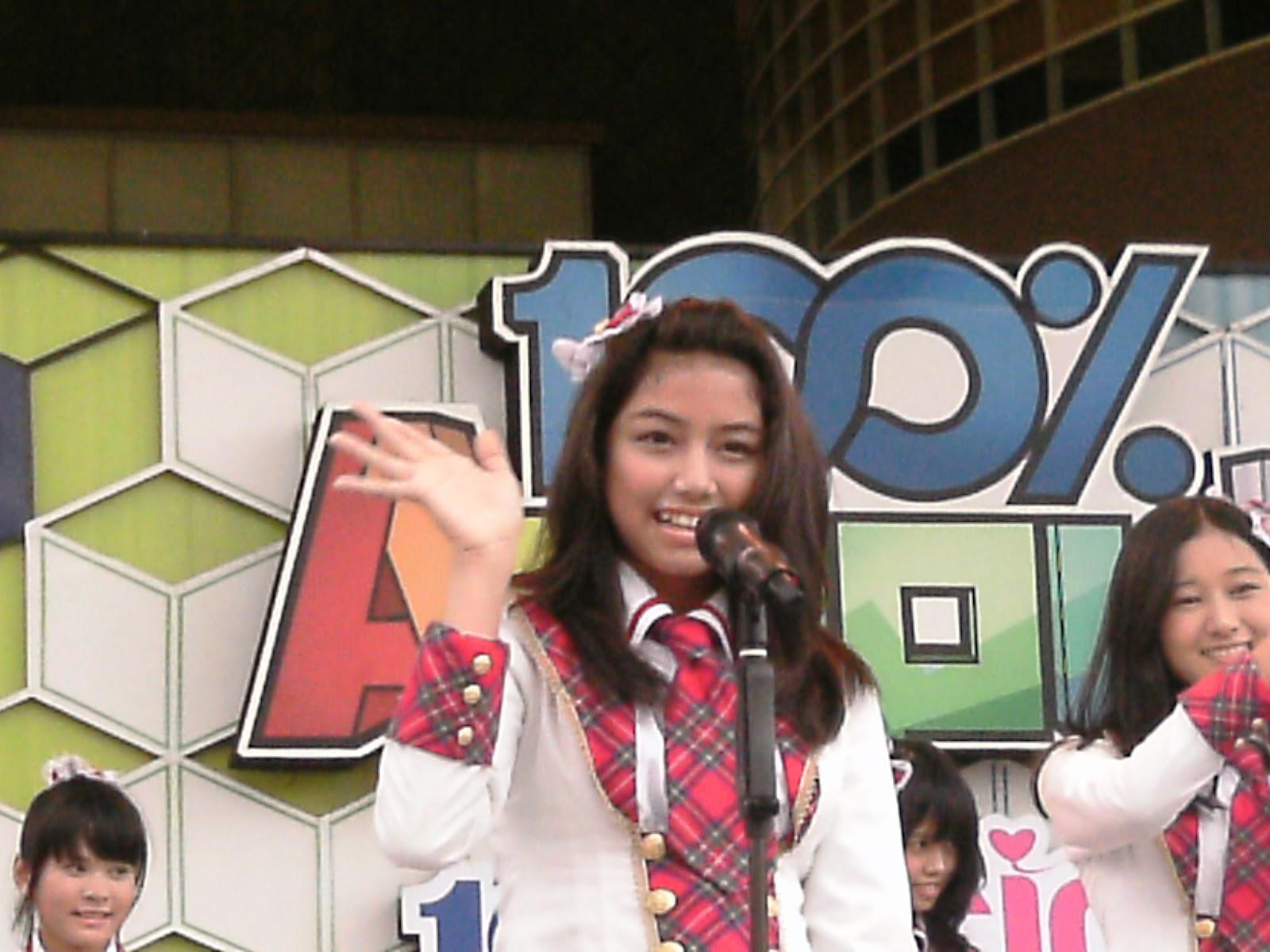 Fahira JKT48 at MTV 100% ampuh