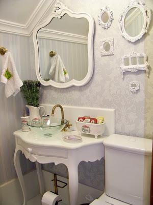 Reciclar reformar e decorar decora o proven al - Lavabos vintage ...