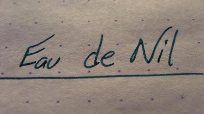 Eau de Nil Ink Review Diamine