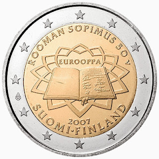 2 euro coins Finland 2007, Treaty of Rome