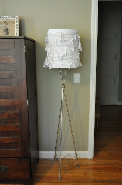 craft ideas for home decor: mummy lamp tutorial