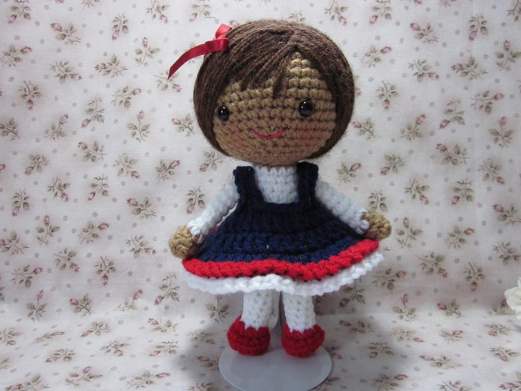 Amigurumi Doll Free Crochet Pattern : By hook by hand: magdalena's secret