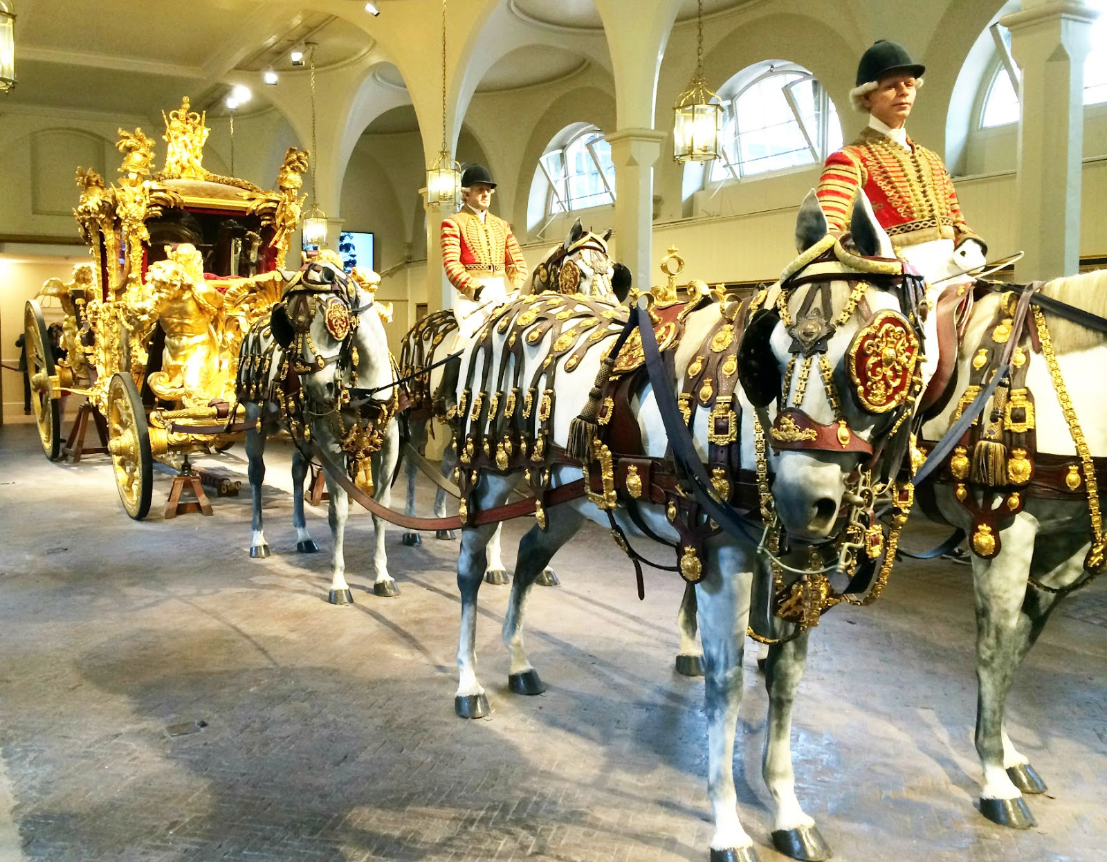 Buckingham Palace The Mews Golden Carriage