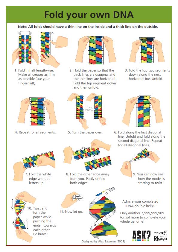 Χει�ο�ε�νίε� dna origami