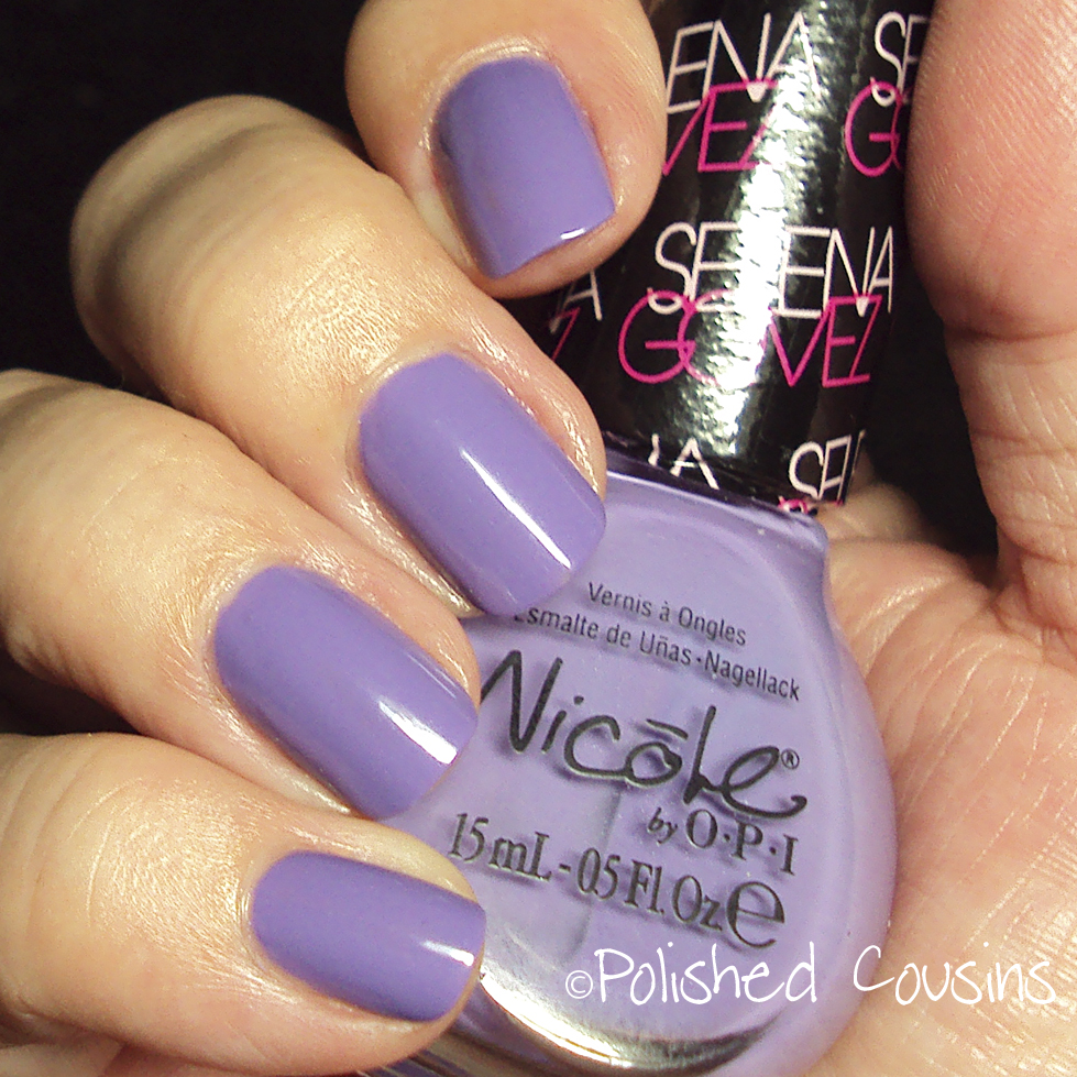 Polished Cousins: Nicole by OPI: Selena Gomez Love Song