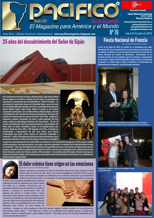 Revista Pacífico Nº 76 Arqueología