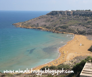 Bahía de Ramla, Gozo, Malta