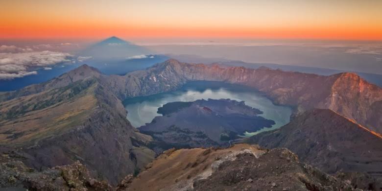 Erupsi Misterius Abad Ke-13 Diduga Berasal dari Gunung di Lombok