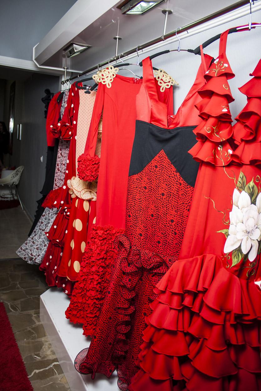 tienda de trajes de flamenca
