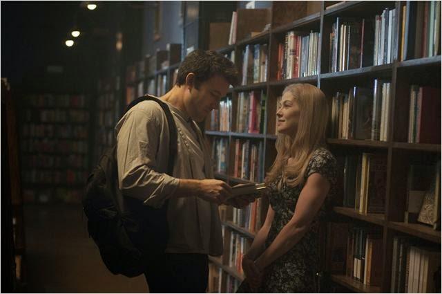 Ben Affleck y Rosamund Pike en Perdida, de David Fincher