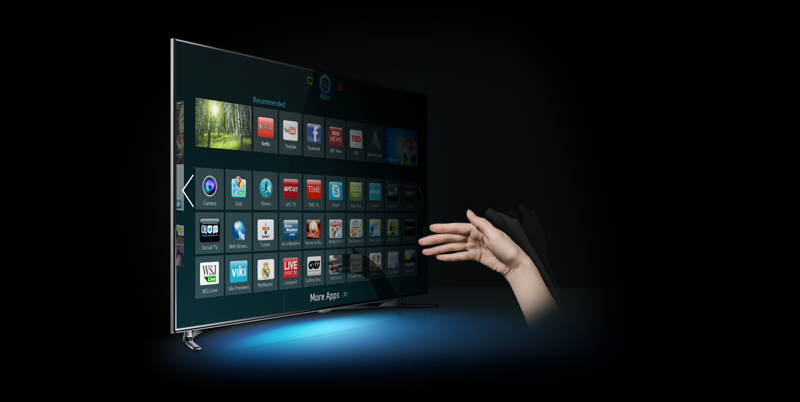 The latest operating system for Samsung Smart TV