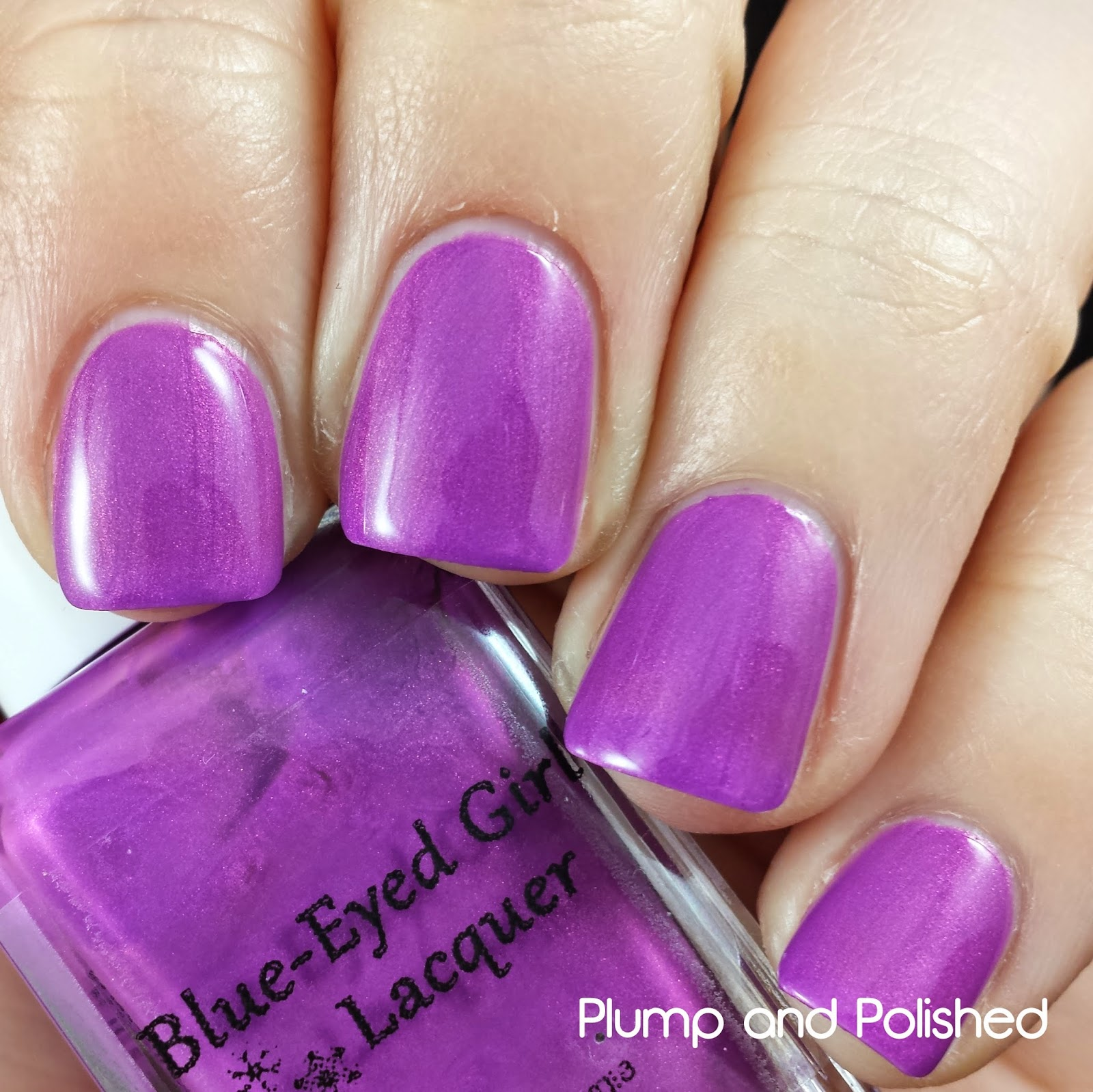Blue-Eyed Girl Lacquer - Wanna Fall In Love Tonight