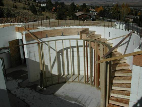 Armstrong Customized Insulated Concrete Forms