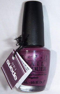 OPI We'll Always Have Paris Suede Bottle
