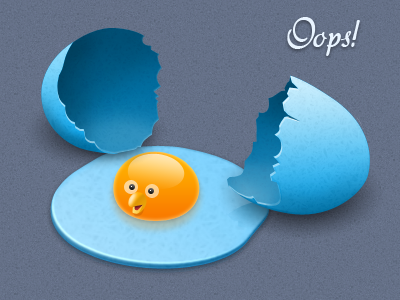 Twitter Dropped Egg