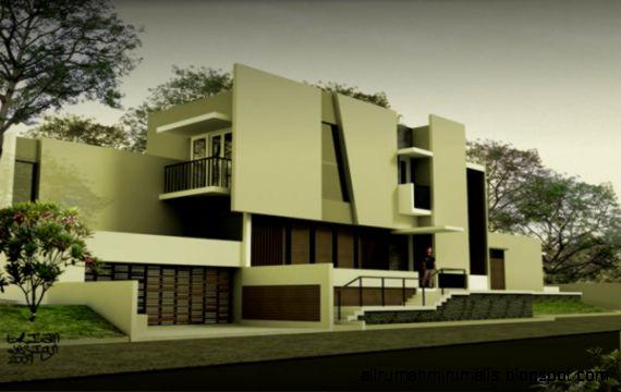 rumah gallery moderen minimalis ed1  Cara Mendesain Rumah