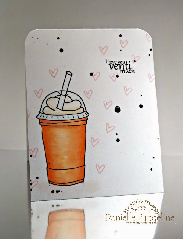 I Love you Venti Much  | Featuring My Style Stamps | Created by Danielle Pandeline