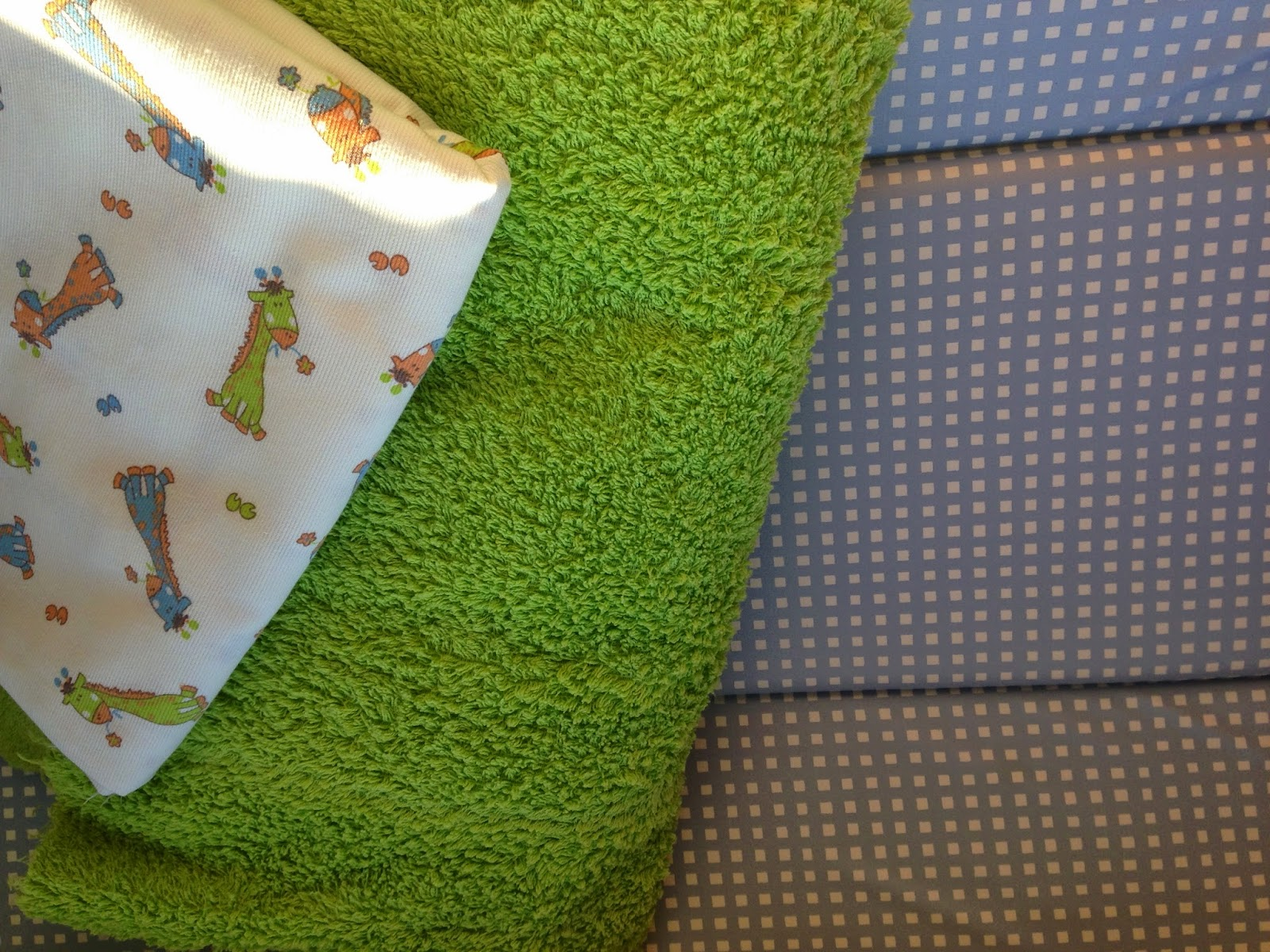 Changing table cover materials