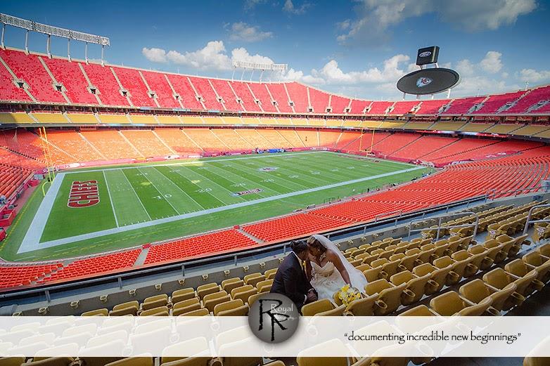 Arrowhead stadium wedding