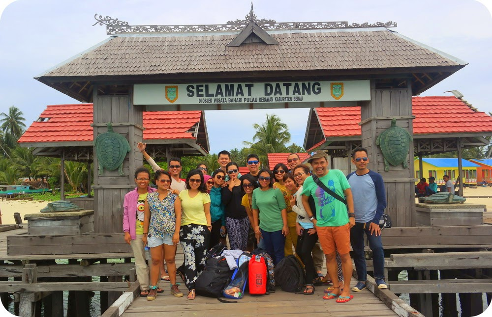 Gerbang Pulau Derawan