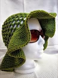 chapéu de praia em crochê para adulto