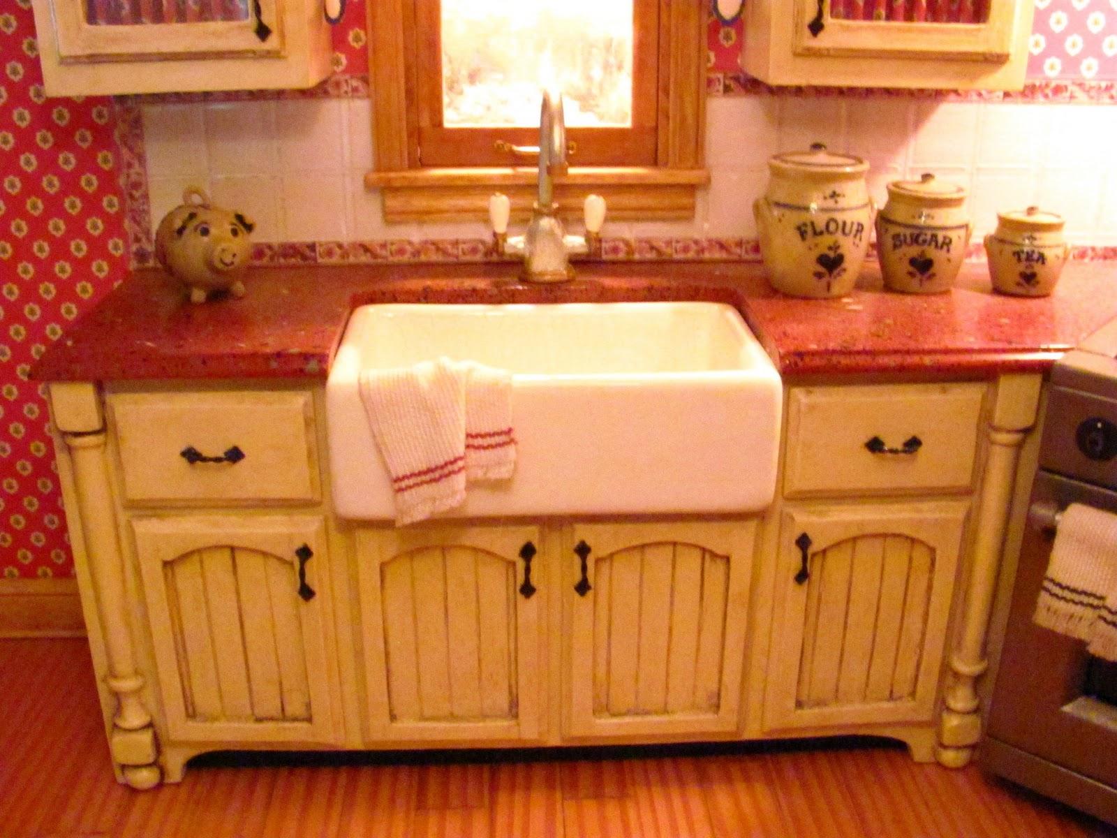 6 Inch Kitchen Cabinet Dollhouse Miniature Furniture Tutorials 1 Inch Minis Kitchen