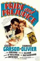 Capa do filme Orgulho e Preconceito, de 1940, com Laurence Olivier