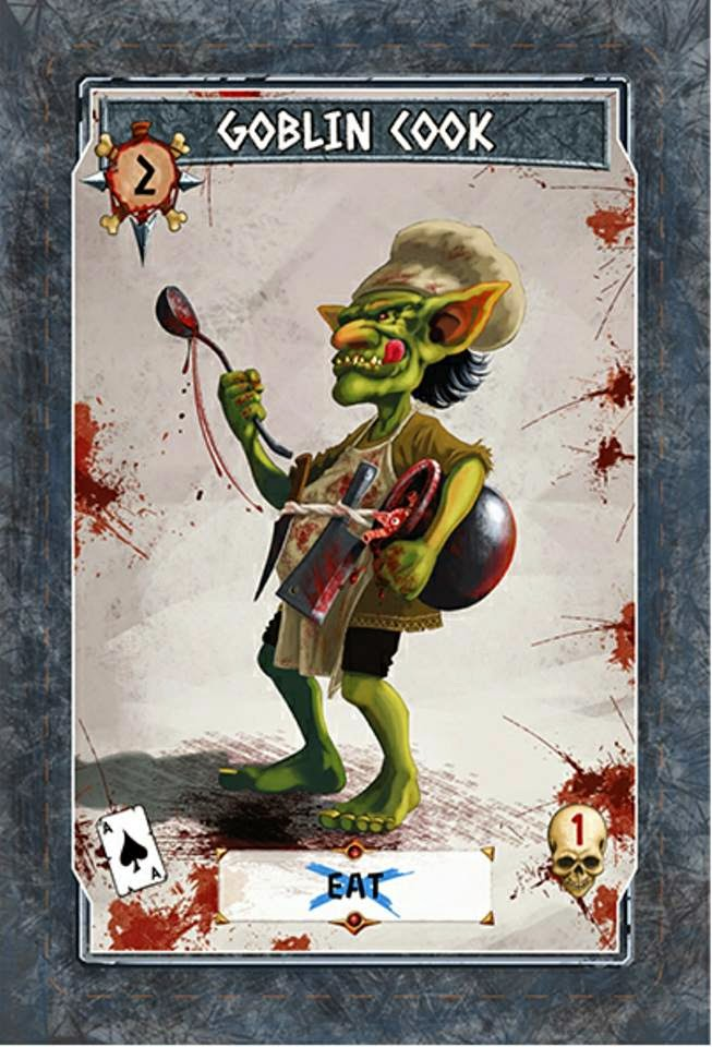 Tinku Card game kickstarter review Goblin Cook
