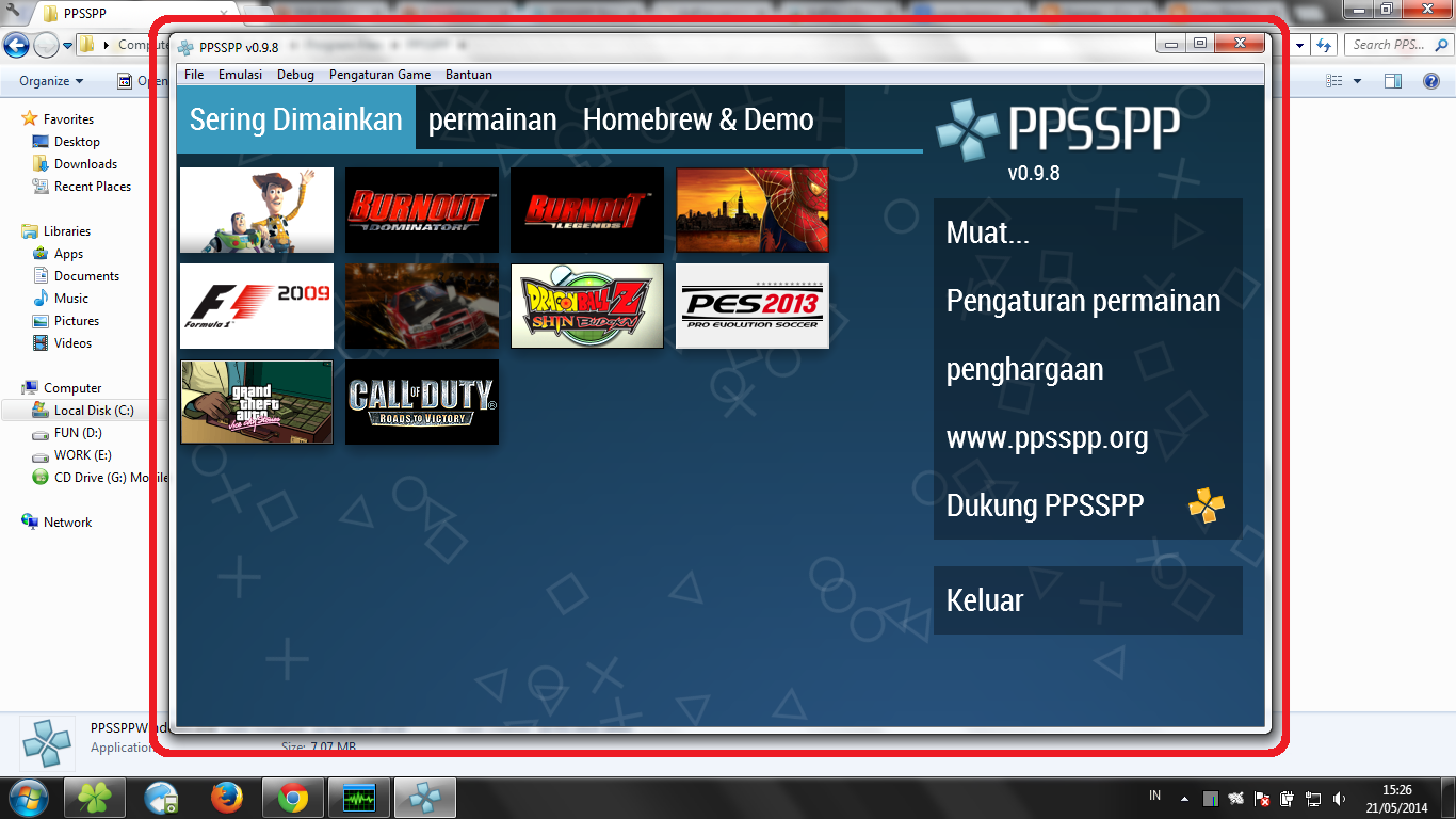 Cara Download Game Psp Lewat Laptop