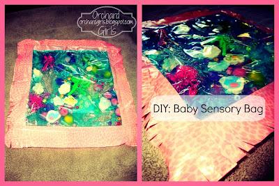DIY: Baby Sensory Bag