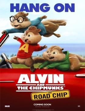 Alvin y las ardillas 4 : Aventura sobre ruedas