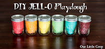 DIY Jell-o Playdough