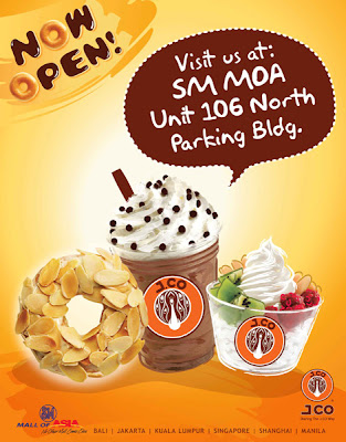 J.Co Donuts and Coffee at SM Mall of Asia