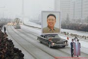 2011: Kim Jong Il's Funeral. Leading the procession. (kimjongil )