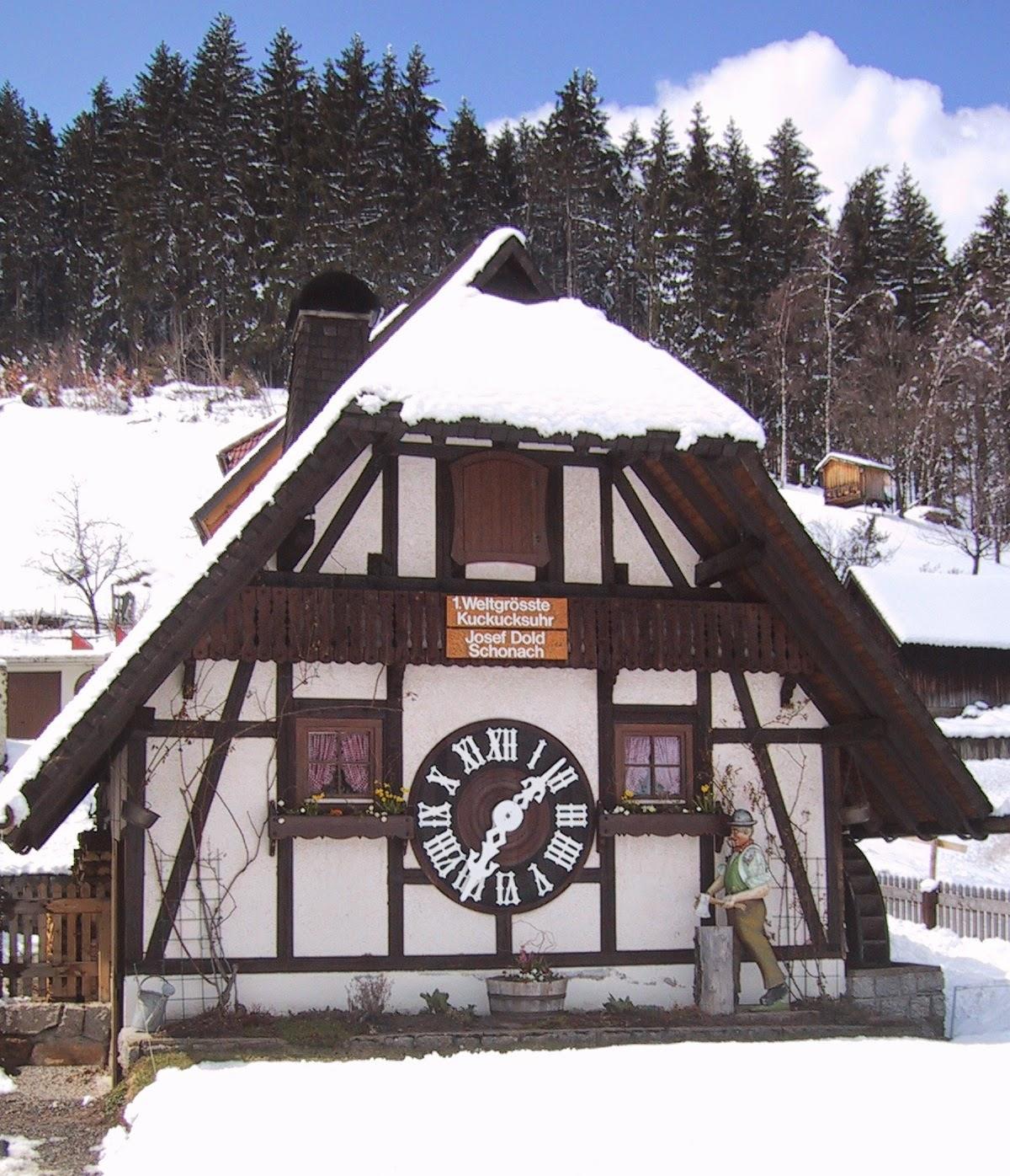 世界上最大的布穀鳥鐘