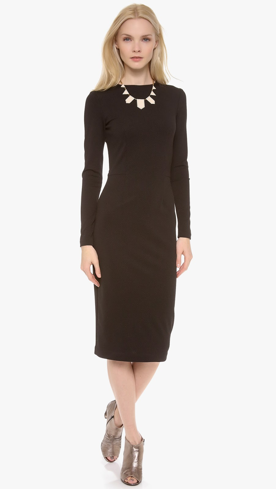 Modest body con fitted midi dress with sleeves | Shop Mode-sty #nolayering tznius tzniut jewish orthodox muslim islamic pentecostal mormon lds evangelical christian apostolic mission clothes Jerusalem trip hijab fashion modest muslimah hijabista